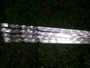 Шампура из нержавеющей стали 3 мм, 1,2*50 (65)см