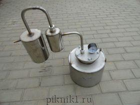 Дистиллятор проточный 12л. + сухопарник