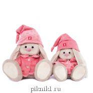 Зайка Ми в розовой пижаме 23 см