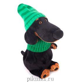 Ваксон в зеленой шапке и шарфе 29см